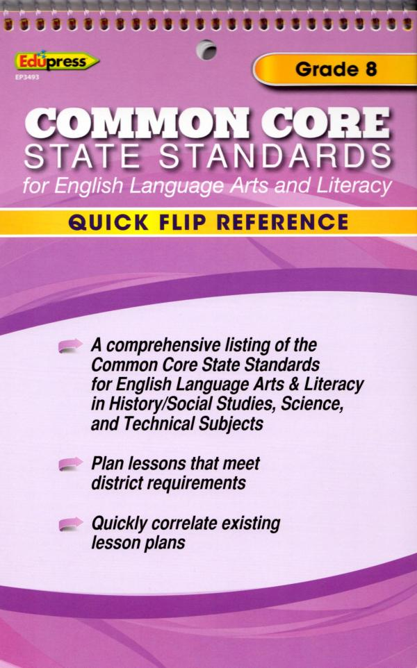 Common Core Standards Flip Chart