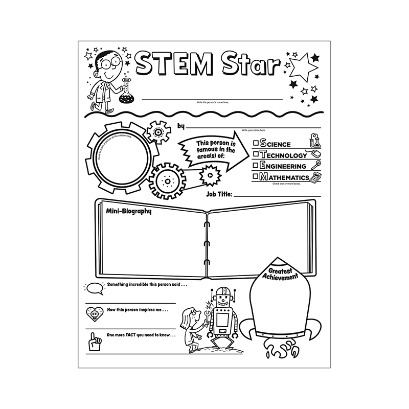 Teacher Resources Personal Posters Stem Star Initiative