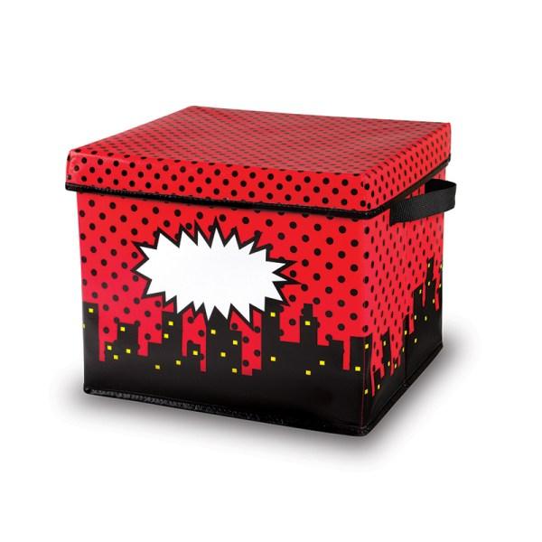 Superhero Storage Bins Box 12x12.5x10.5 - Boxes