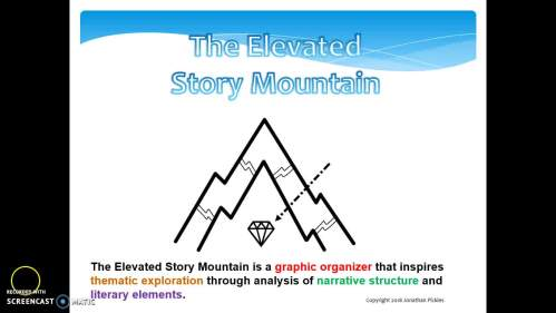 small resolution of story mountain diagram