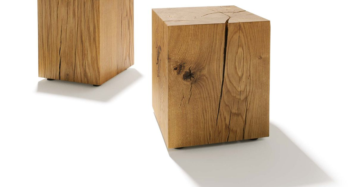 oak block a strong piece of wood for