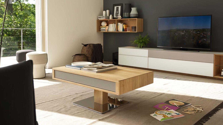 lift coffee table height adjustable