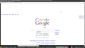 all Google elements are falling down