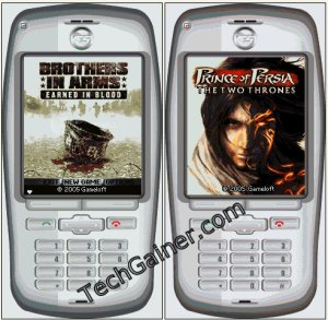 Brothers in arms and Prince of persia is unning on NHAL Win32 Emulator