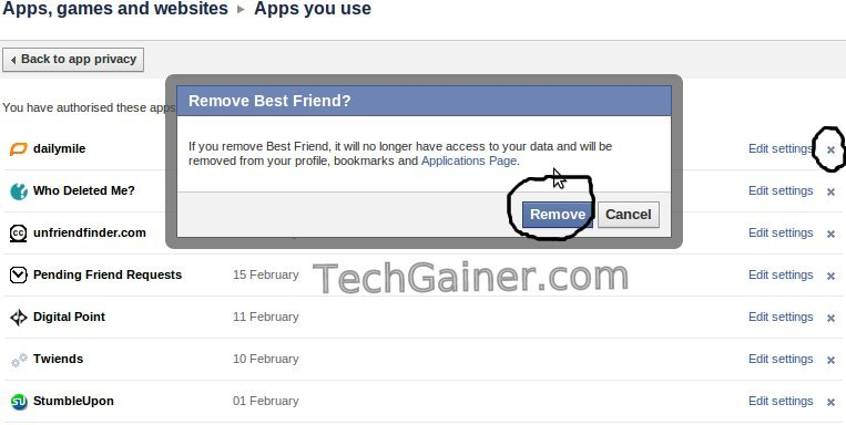 how to remove follow on your facebook account