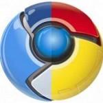 Chromium and Chrome mixed logo