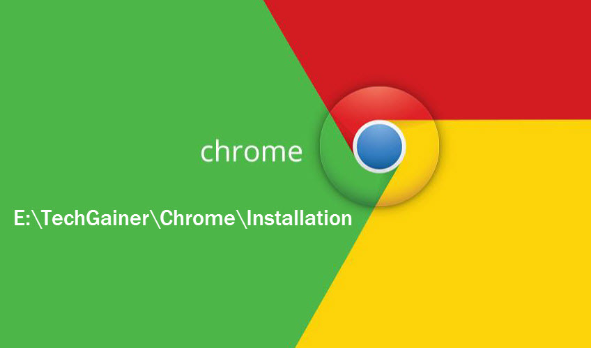 Chrome custom installation