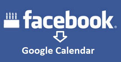 Facebook to google