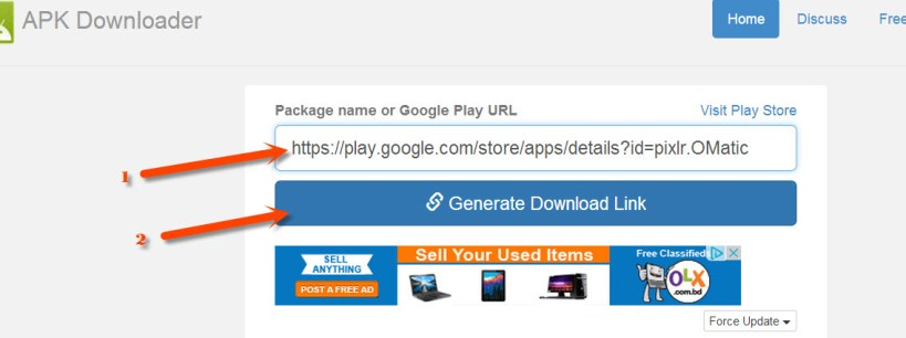 Download APK Files Directly to PC from Google PLay Store