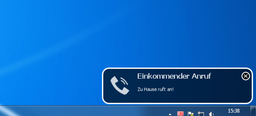 DeskNotifier Call Notification