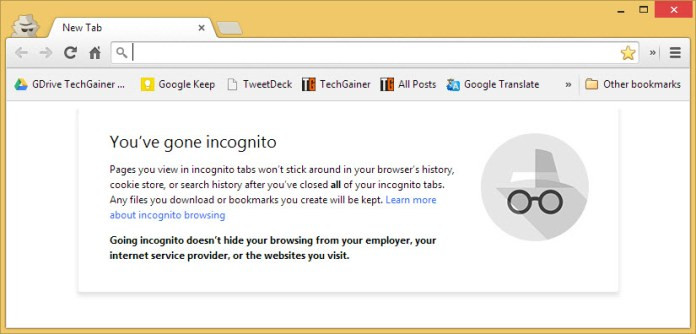 Chrome opening in incognito mode by default