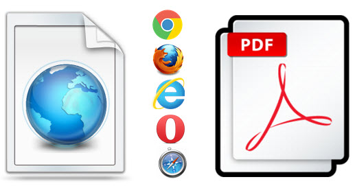 Save Web Pages as PDF in Chrome, Firefox and Other Browsers