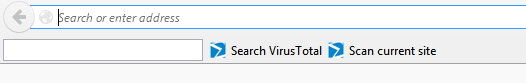 VirusTotal toolbar for Firefox