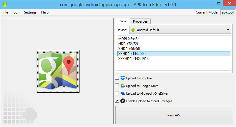 Easily Edit APK Files, Change Icon, Name, etc  with APK