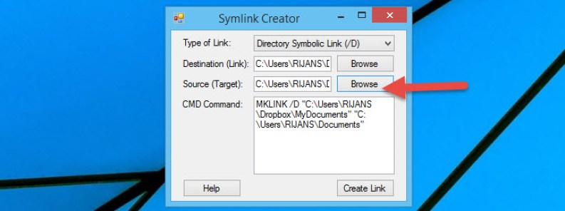 Easily Sync Documents Folder With Dropbox Without Moving It On