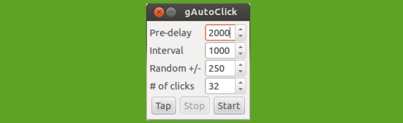 gAutoClick for Linux