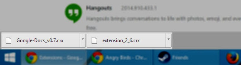 Directly download Chrome extension CRX FIles