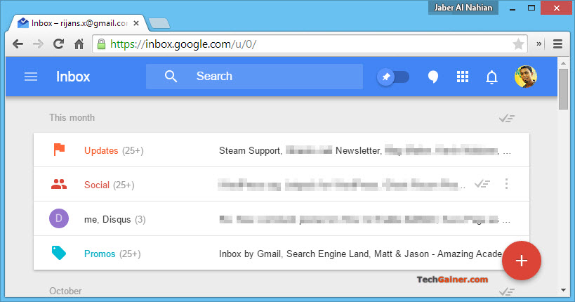 """How to Disable Category Bundle on """"Inbox by Gmail"""" on Android, iOS and Web"""