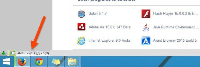 Chrome style download progressbar