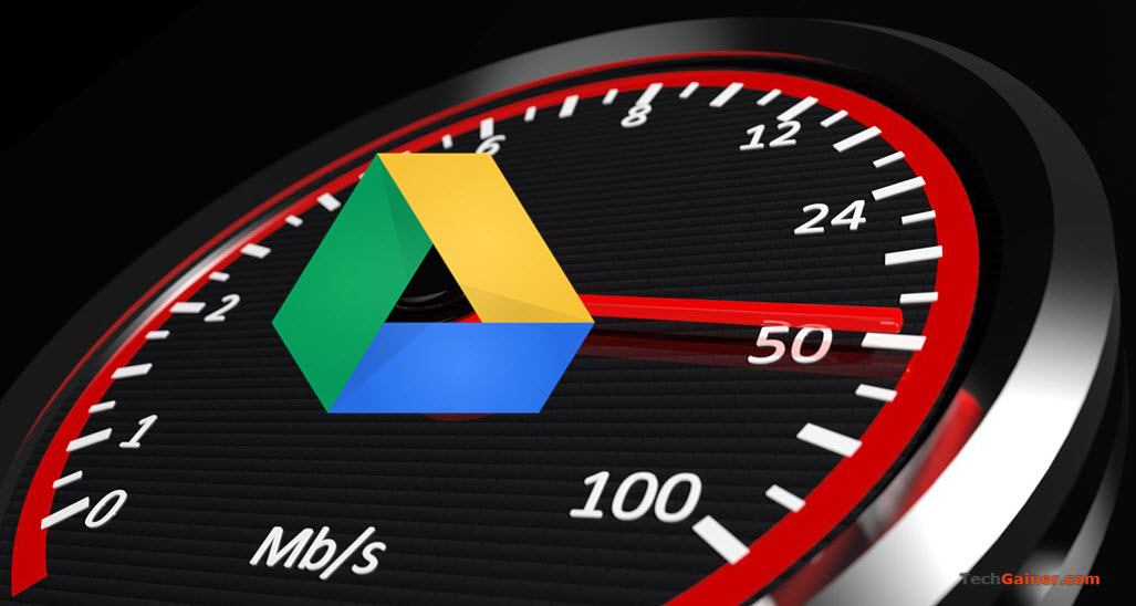 Limit Google Drive Speed rate