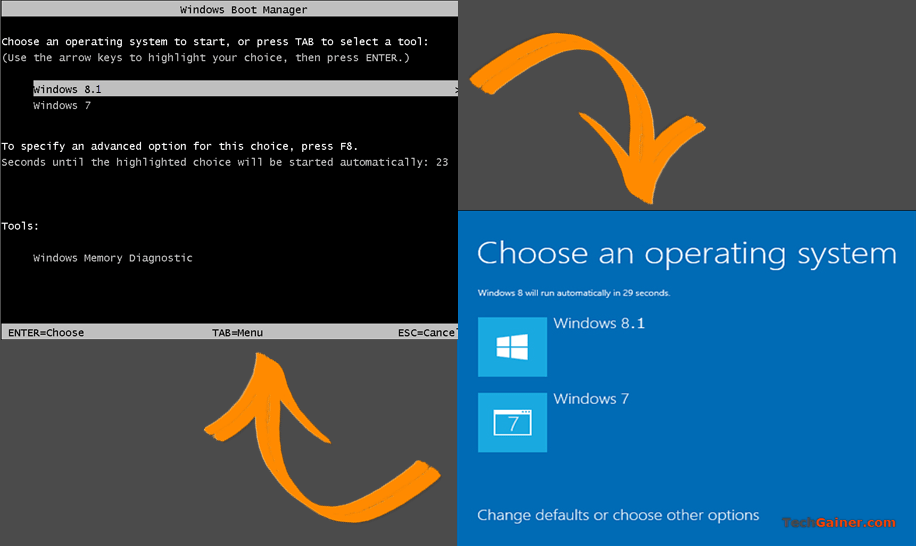 How to Switch Between Graphical and Text-based Multiboot Menu in Windows