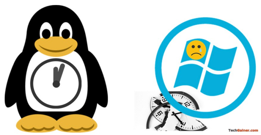 Windows and Linux time conflict on multi-boot system
