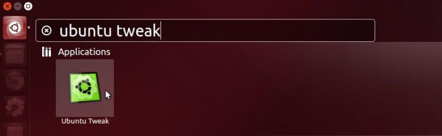 Ubuntu Tweak in Dash