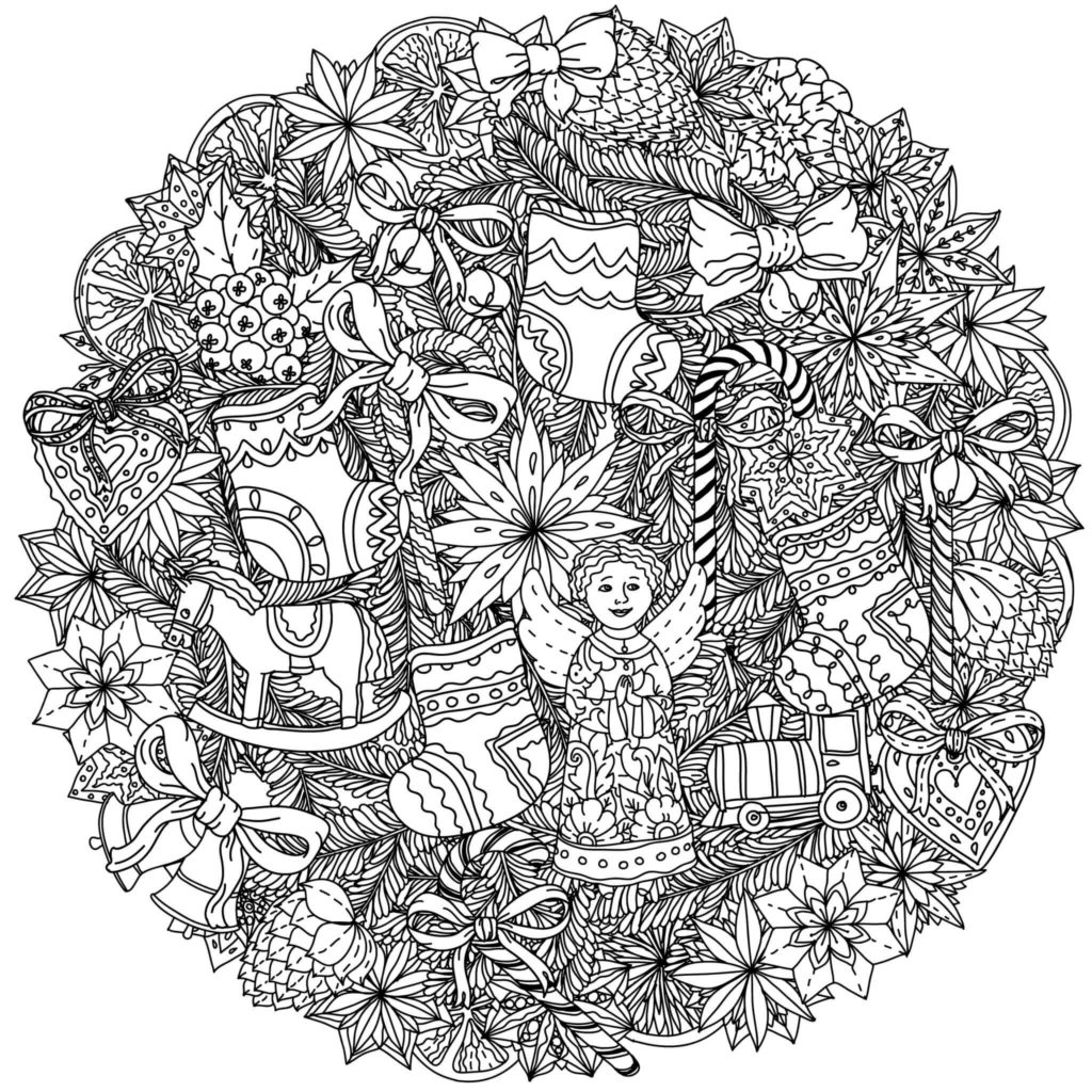 101 Best Christmas Coloring Pages For Kids Amp Adults Printable