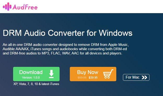 DRM audio converter for windows