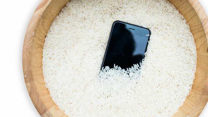 Cómo sacar el agua del puerto de carga con arroz