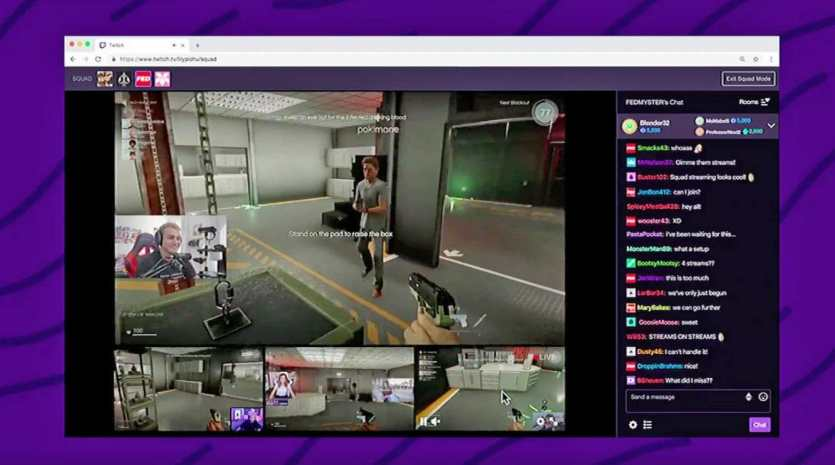check twitch chat logs with VOD playback