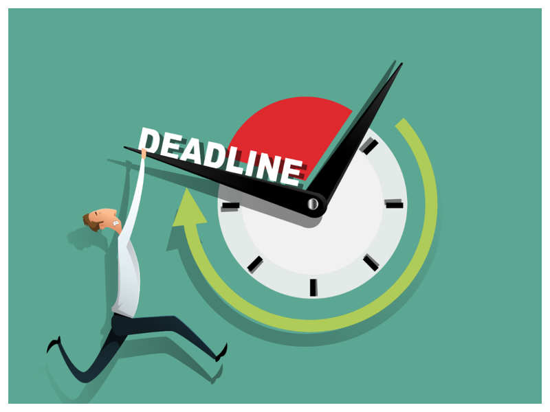 deadline - stick to your schedule