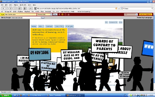 Net Disaster, The Protest