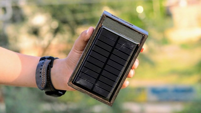 solar powered powerbank
