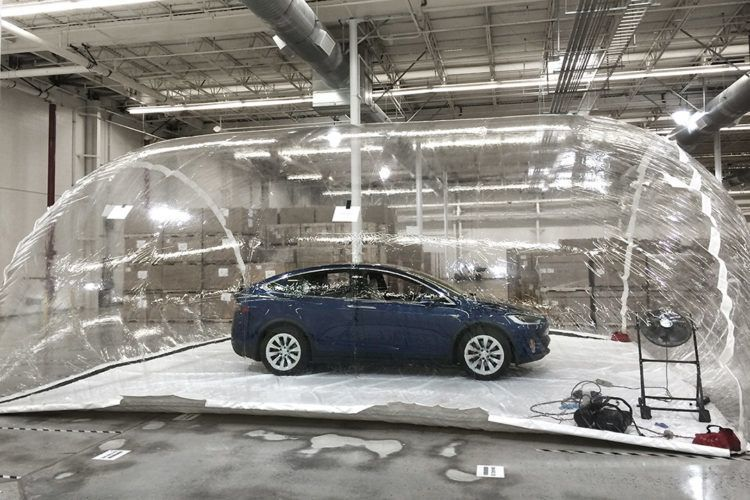 Tesla tries to poison its own car.