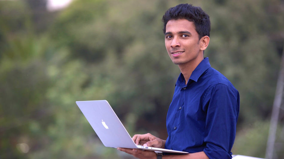 lookup founder Deepak ravindran's life pics