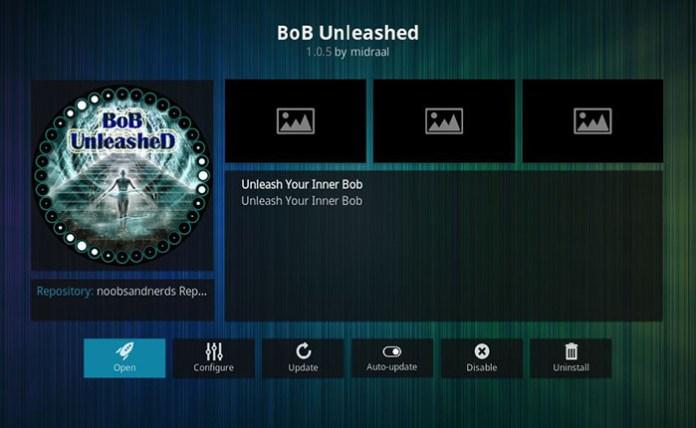Boxing Kodi Addons - BoB Unleashed