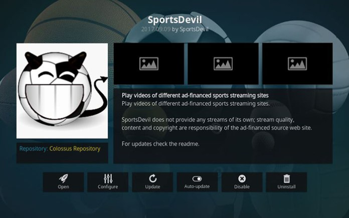 Boxing Kodi Addons - Sports Devil