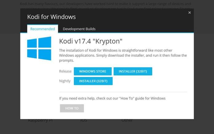 Install Kodi on Windows - Installation 2