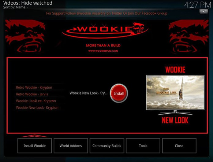 Wookie Kodi Build - 5