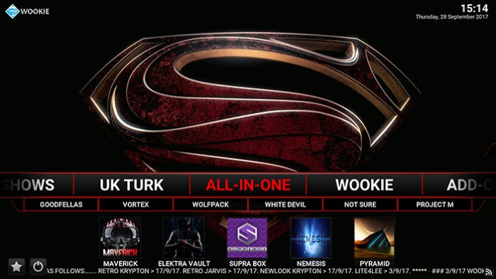 Wookie Kodi Build - All in one