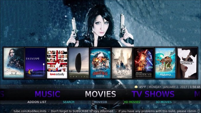 Best Kodi Builds -No Limits Magic