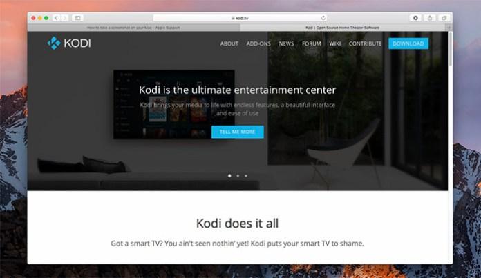 Install Kodi for Mac - Install 1