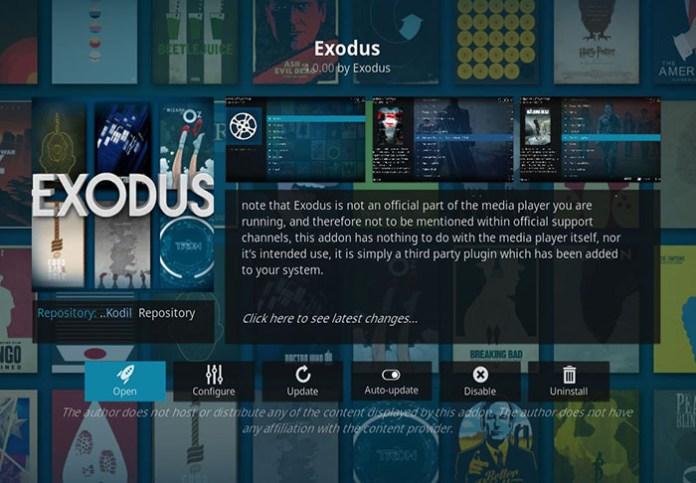 Install Kodi on Linux - Exodus