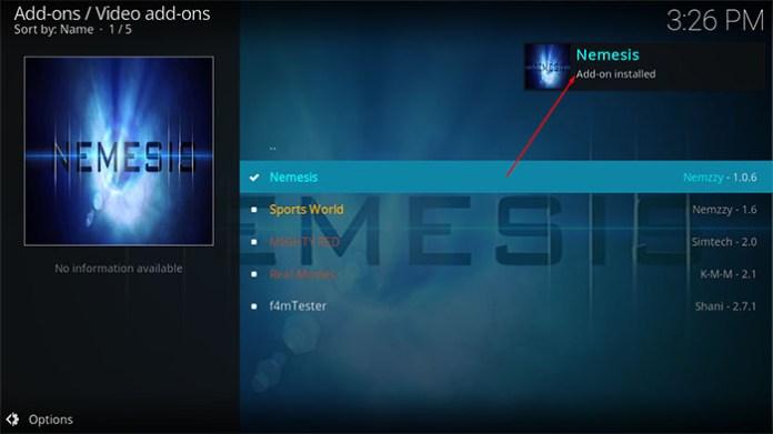 Nemesis Kodi Addon - image18