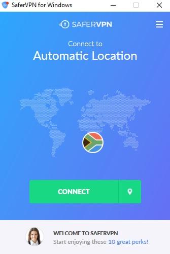 SaferVPN Review Client Connect