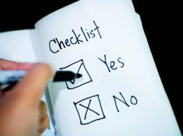 Chord Cutting Checklist