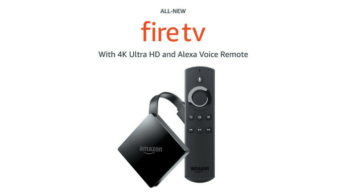 Fire TV with 4K Ultra HD and Alexa Voice Remote