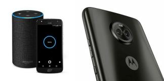 Moto X + Amazon Echo device