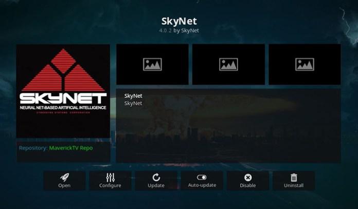 SkyNet Live TV Kodi